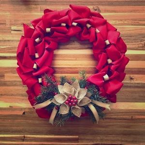 Other - HAND CRAFTED CHRISTMAS WREATH